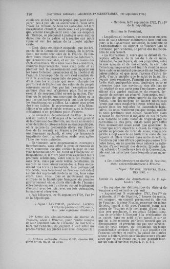 Tome 52 : Du 22 septembre au 26 octobre 1792 - page 220