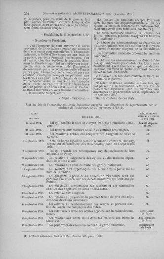 Tome 52 : Du 22 septembre au 26 octobre 1792 - page 302