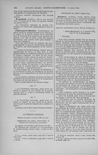 Tome 52 : Du 22 septembre au 26 octobre 1792 - page 316