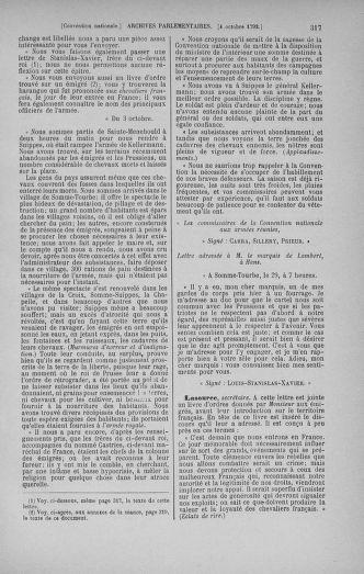 Tome 52 : Du 22 septembre au 26 octobre 1792 - page 317
