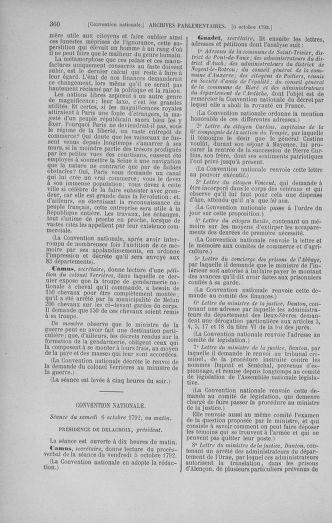 Tome 52 : Du 22 septembre au 26 octobre 1792 - page 360