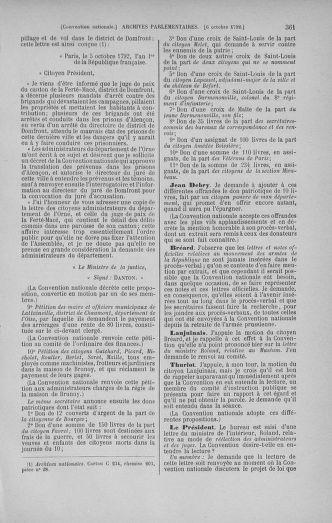 Tome 52 : Du 22 septembre au 26 octobre 1792 - page 361