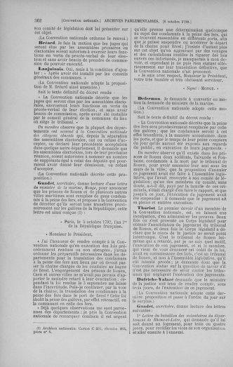 Tome 52 : Du 22 septembre au 26 octobre 1792 - page 362