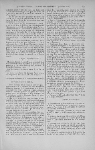Tome 52 : Du 22 septembre au 26 octobre 1792 - page 377