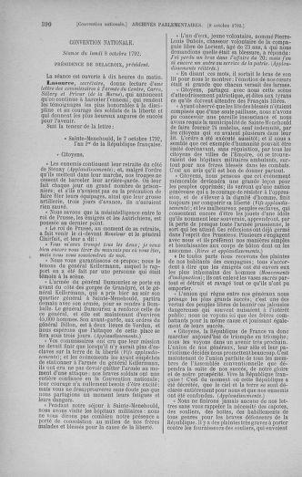 Tome 52 : Du 22 septembre au 26 octobre 1792 - page 390