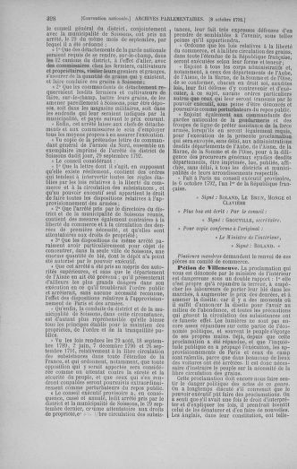 Tome 52 : Du 22 septembre au 26 octobre 1792 - page 398