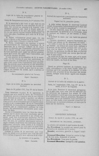 Tome 52 : Du 22 septembre au 26 octobre 1792 - page 427