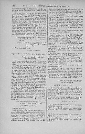 Tome 52 : Du 22 septembre au 26 octobre 1792 - page 430