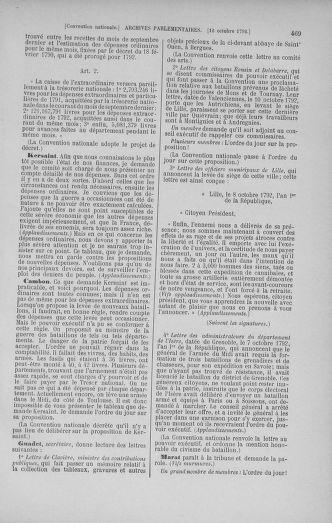Tome 52 : Du 22 septembre au 26 octobre 1792 - page 469