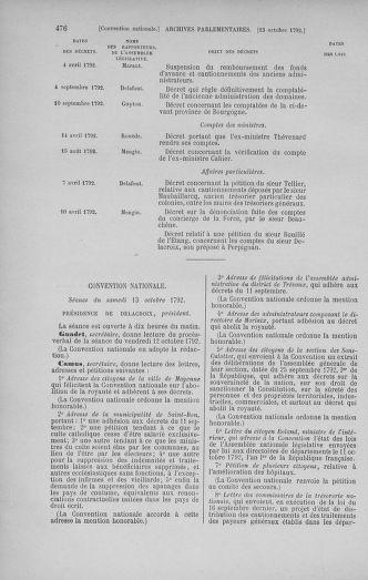 Tome 52 : Du 22 septembre au 26 octobre 1792 - page 476