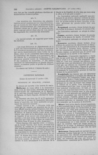 Tome 52 : Du 22 septembre au 26 octobre 1792 - page 532