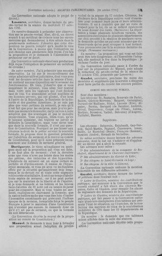 Tome 52 : Du 22 septembre au 26 octobre 1792 - page 551