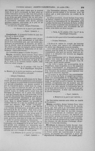 Tome 52 : Du 22 septembre au 26 octobre 1792 - page 569