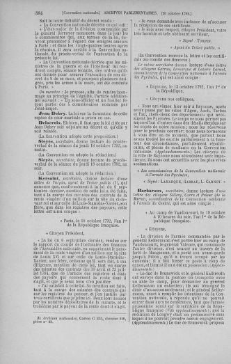 Tome 52 : Du 22 septembre au 26 octobre 1792 - page 584