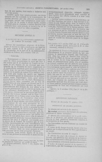 Tome 52 : Du 22 septembre au 26 octobre 1792 - page 595