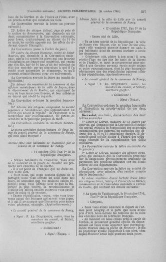 Tome 52 : Du 22 septembre au 26 octobre 1792 - page 597