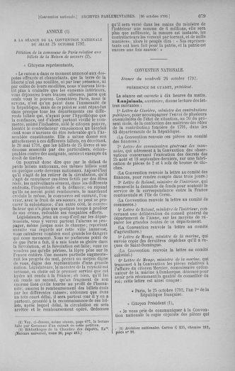 Tome 52 : Du 22 septembre au 26 octobre 1792 - page 679