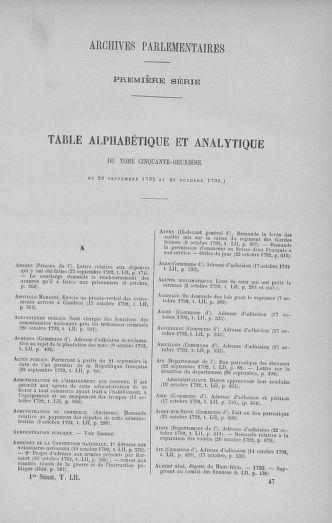 Tome 52 : Du 22 septembre au 26 octobre 1792 - page 737