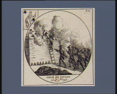 Siège de Toulon le 18 X.bre 1793 : [estampe]