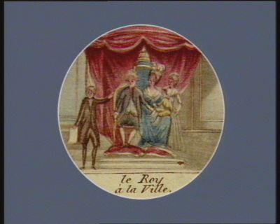 Le  Roy à la ville [estampe]