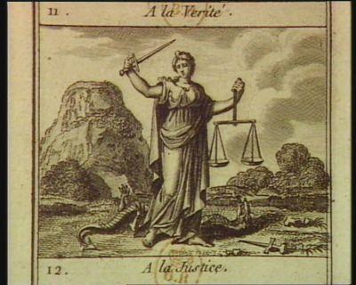 A la Justice [estampe]
