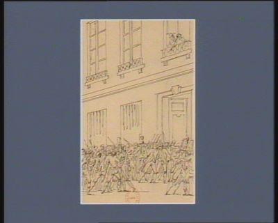 [Evénement du treize avril 1790] [dessin]