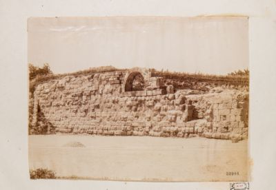 Mura Serviane. Mura e arcata per macchine da guerra (Aventino)