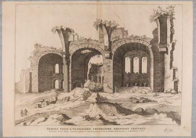 Basilica di Costantino, avanzi del tempio della Pace