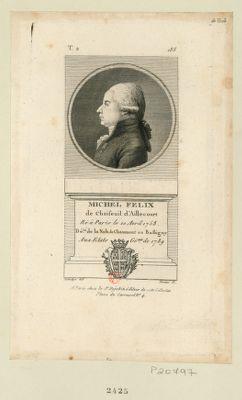 Michel Felix de Choiseuil d'Aillecourt né à Paris le 10 avril 1758 dé.té de la nob. de Chaumont en Bassigny aux Etats gé.aux de 1789 : [estampe]