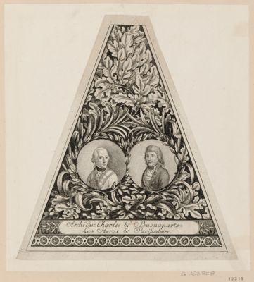 Archiduc Charles & Buonaparte les heros & pacificateurs [estampe]