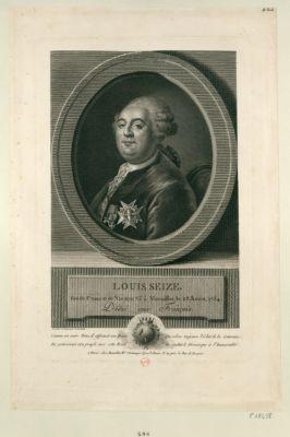 Louis XVI Roi des Français né à Versailles le 23 aout 1754 : [estampe]
