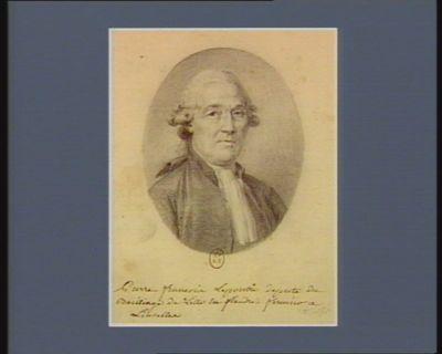 Pierre François Lepoutre deputé du bailliage de Lille en Flandre, fermier à Luiseller : [dessin]