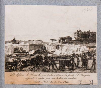 Porta S. Pancrazio. Breccia del 30 giugno 1849