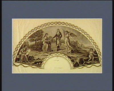 Bonaparte entre la Victoire et la Paix [estampe]