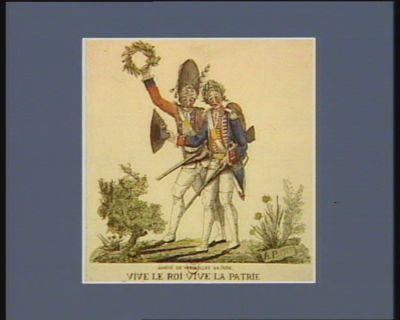 Arrivé de Versailles 28 juin vive le roi vive la patrie. Nous sommes aussy du Tiers-etats nous autres : [estampe]