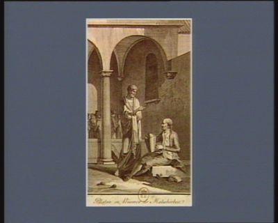 Platon en présence de Malesherbes [estampe]