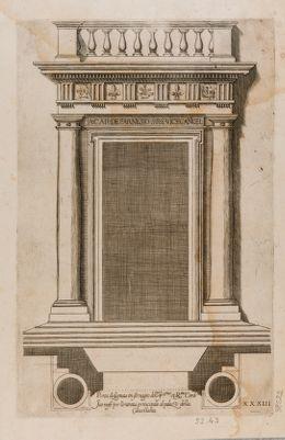 Palazzo Farnese, portale (?)