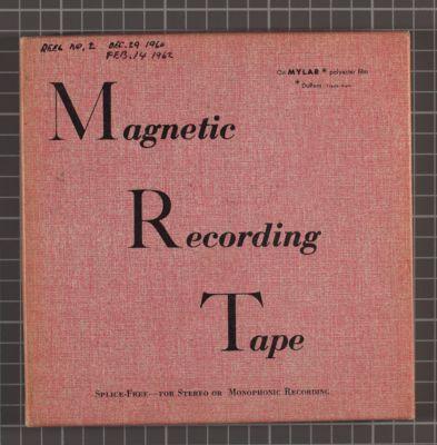 Turk Murphy at Earthquake McGoon's, Dec. 29, 1960 and Feb. 14, 1962