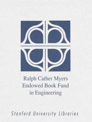 Ralph Cather Myers Endowed Book Fund in Engineering