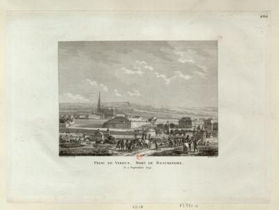 Prise de Verdun. Mort de Beaurepaire le 2 septembre 1792 : [estampe]
