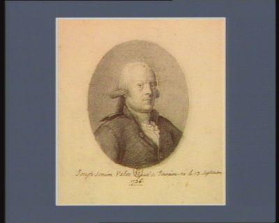 Joseph Siméon Valete député de Touraine né le 13 septembre 1736 : [dessin]