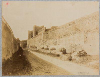Mura urbane, Settore Tiburtino