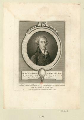 Jean Baptiste Girot Pouzol député du départem.t du Puy de Dome né à Vodable en 1753 : [estampe]