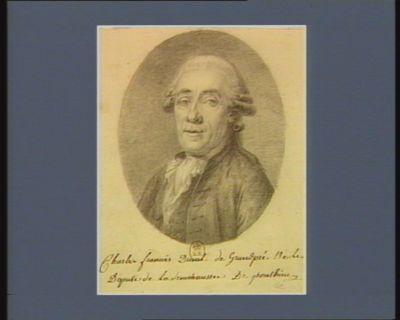 Charles Francois Duval de Grandpré né le [19 août 1740] deputé de la senechaussée de Ponthieu : [dessin]