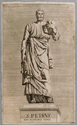 Statua di S. Pietro al ponte S. Angelo