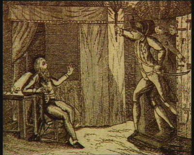 Delivrance de M.r le Conte de Lorges Par la Nation, Ce 14 juillet 1789 : Après avoir gagnér la Bastille, long trouva dans un Cachot un vieillard, qui s'nomme le Conte de Lorge... : [estampe]