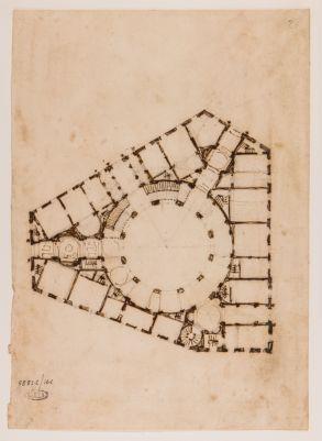 Palazzo Braschi, pianta del piano terreno