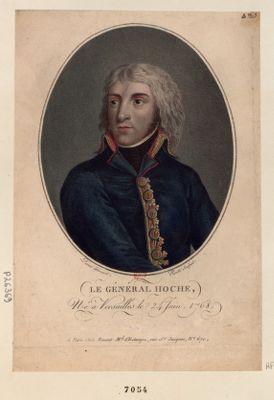 Le  Général Hoche Né à Versailles le 24 Juin, 1768 : [estampe]