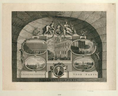 Gedenkteken voor Parys anno 1789 : [estampe]