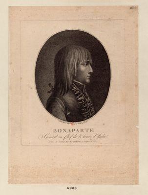 Bonaparte général en chef de l'armée d'Italie : [estampe]
